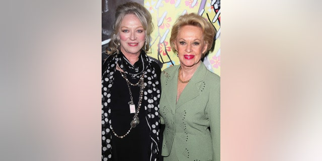Actresses and 'The Birds' cast members Veronica Cartwright (L) and Tippi Hedren reunited in 2013 to celebrate the film's lasting legacy.