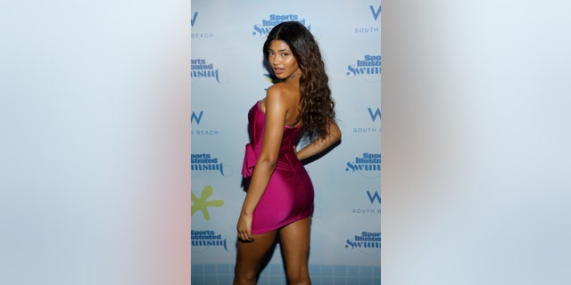 Danielle Herrington previously appeared on the cover of Sports Illustrated Swimsuit in 2018.
