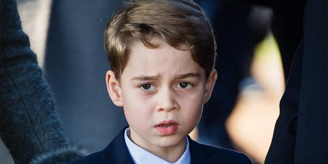 Prince George, the eldest child of Prince William and Kate Middleton, is third in line to the British throne.