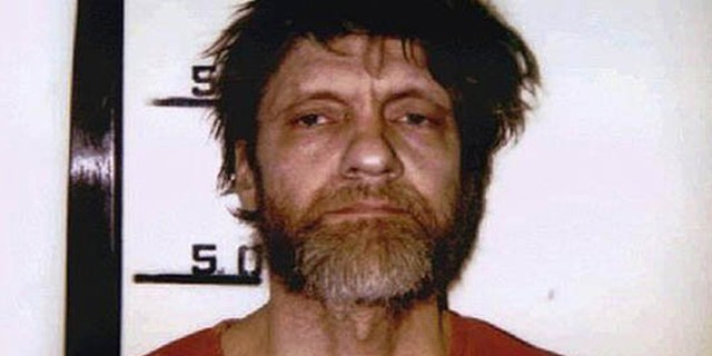 Mugshot of Ted Kaczynski, identified as the domestic terrorist known as the Unabomber, April 1996.
