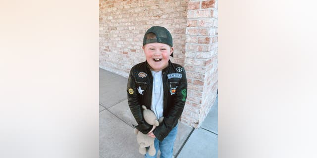"""Grady Witkowski, 11, had been attending Sunday services at Liquid Church in Parsippany, N.J., with his family, but was forced to take a 15-month break due to the coronavirus pandemic. The church has a """"thriving special needs ministry,"""" his mother Erin Witkowski tells Fox News."""