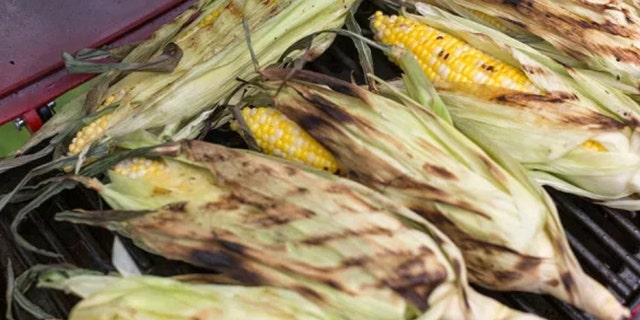 """Grilling corn on the cob might seem intimidating, but Anderson says in her blog that the process is """"really pretty easy."""""""