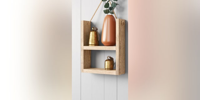 This shelf is a perfect host gift for your next housewarming party.