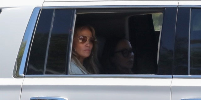Jennifer Lopez returns from a trip to the Hamptons with Ben Affleck.
