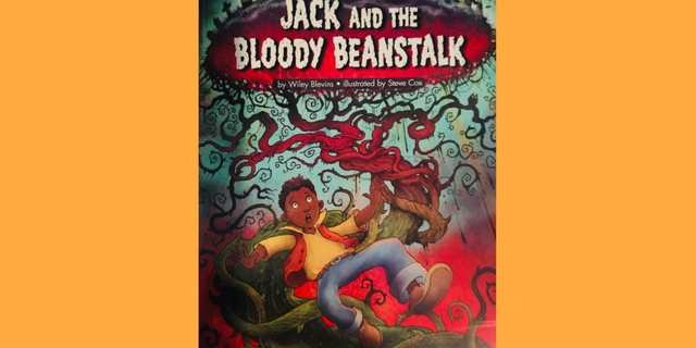 The fairytale of Jack and the Beanstalk retold with African American Jack and an evil White giant.