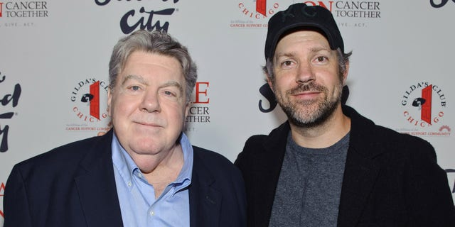Sudeikis' uncle is George Wendt, Emmy-nominated star of 'Cheers.' (Getty Images)