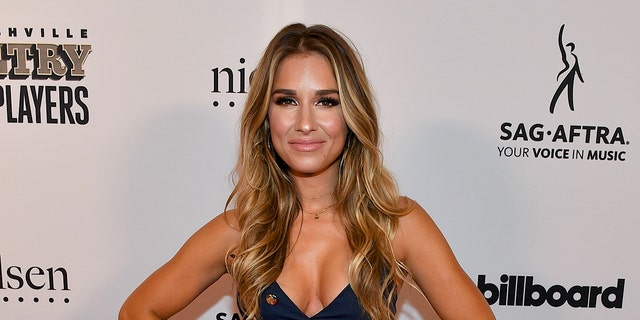 Jessie James Decker revealed she used to weigh 115 pounds, but is happy with her body now.
