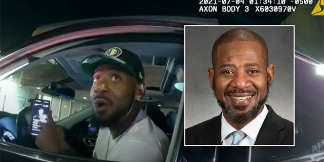 Police bodycam footage of Rep. John Thompson's July 4 traffic stop