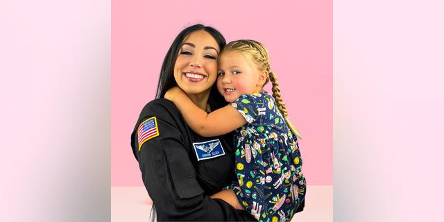 Gerardi and her daughter Delta V. (Kellie Gerardi).  - KellieandDelta 1 - Meet the mom heading to space on Richard Branson's Virgin Galactic spaceship
