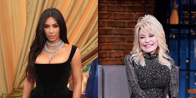 Kim Kardashian channeled her inner Dolly Parton in her latest Instagram caption. The star used a quote of Parton's to which the country music star responded, 'You're doing great sweetie.'