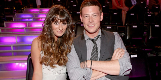 Lea Michele paid tribute to ex-boyfriend Cory Monteith on the eighth anniversary of his death.