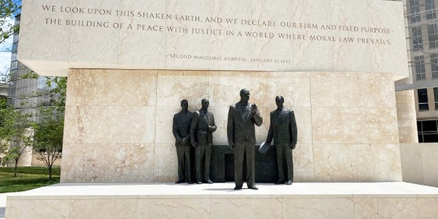 Memorial of Dwight Eisenhower's second Inaugural Address