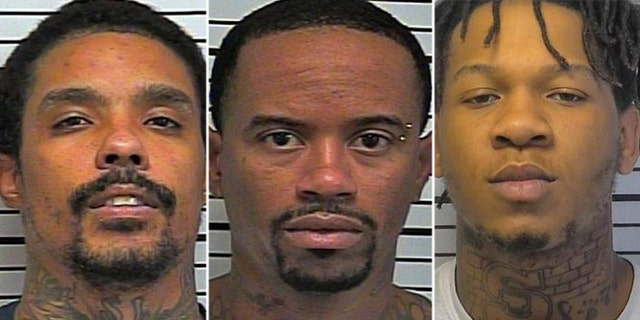 Artis Dixon, 31; Quanterell Ellison, 33; and 23-year-old Hasheem Coleman were reportedly seen on video grilling food in an Oklahoma County jail cell.