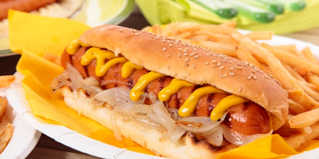 Americans' favorite regional style of hot dog is New York style, which is an all-beef frank topped with steamed onions and yellow mustard, according to the NHDSC.