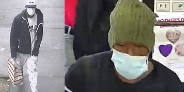The suspect wanted in connection with a string of robberies in the South Bronx area.