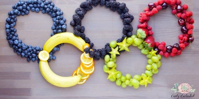 """Emily Ploch from Emily Enchanted told Fox News that her fruit platter is """"perfect for enjoying the Summer Olympics."""""""