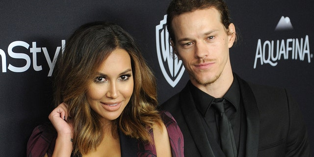 Naya Rivera and ex-husband Ryan Dorsey appear together on the red carpet.