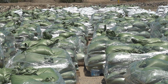 The town is handing out sandbags to residents and preparing for next weeks rainstorm. (Stephanie Bennett/ Fox News)