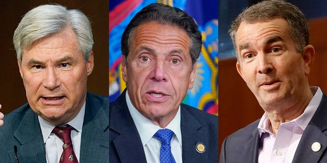 Sheldon Whitehouse, Andrew Cuomo and Ralph Northam are among the high profile Democrats who get a pass from the mainstream media.