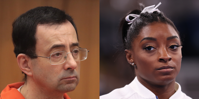 Simone Biles previously came forward as one of the hundreds of young women abused by Larry Nassar under the guise of medical treatment.