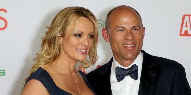 Adult movie actress / director Stormy Daniels and attorney Michael Avenatti will participate in the 2019 Adult Video News Awards at The Joint inside the Hard Rock Hotel & Casino on January 26, 2019 in Las Vegas, Nevada.  (Gabe Ginsberg / Getty Images)