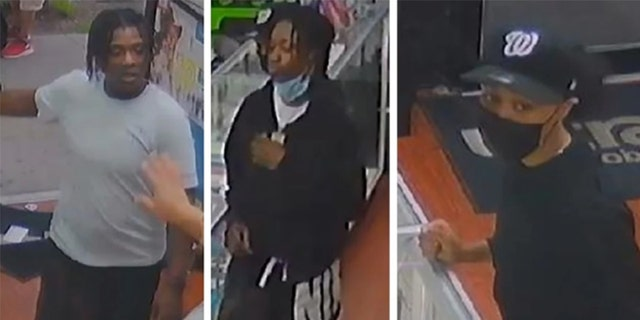 Three female suspects entered Fast Wireless on 104th Street near 39th Avenue in Corona at 5:25 p.m. Monday and started grabbing items from the store, cops said.