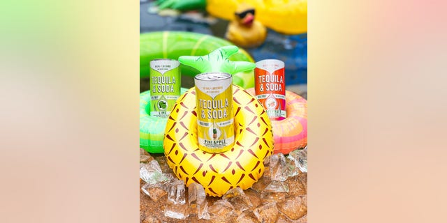Dulce Vida Tequila & Soda come in flavors like lime and grapefruit. (Courtesy of Dulce Vida Tequila & Soda)