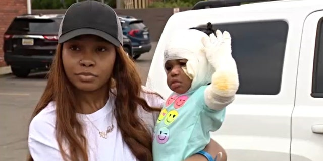 ShiAnn Brown and her daughter. (Credit: Fox 2 Detroit)