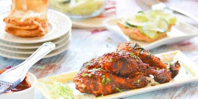 """Savita Verma, of food blog Chef de Home shared her """"BBQ Chicken Drumsticks with Chipotle-Beer BBQ Sauce"""" with Fox News ahead of the July 4th weekend."""