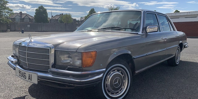 U2 singer Bono was the first owner of this 1980 Mercedes-Benz 450 SEL.