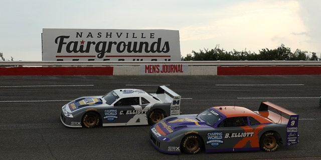 Chase and Bill Elliott raced against each other for the first time since 2013.