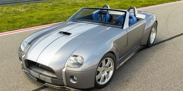 The 2004 Ford Shelby Cobra Concept is the only one of its kind.