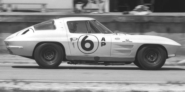 The second-generation Corvette would enter production as a two-seater in 1963.