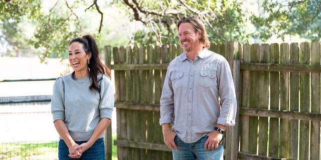 Hosts Chip and Joanna Gaines, as seen on