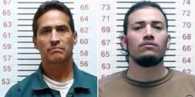 Arturo Campos-Zamora, left, and Christopher Salazar.