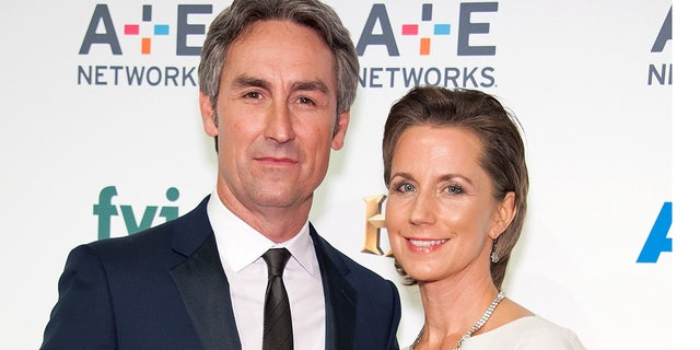 'American Pickers' co-host Mike Wolfe and his wife Jodi, right, are divorcing.
