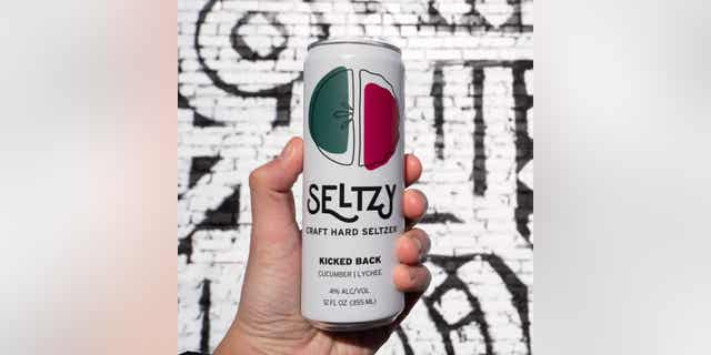Seltzy, a line of small-batch hard seltzer, is 4% ABV and made with no added sugar. (Courtesy of Seltzy)
