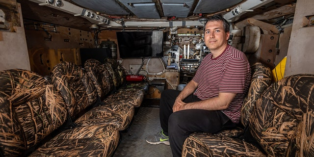 This 'Tank Taxi' service blows Uber away