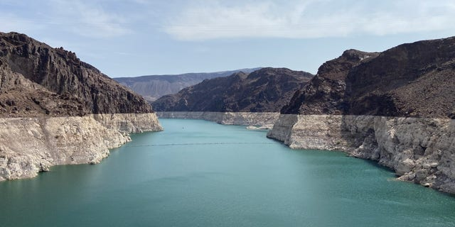 The Hoover Dam is one of the National Park Service's most popular tourist attractions. The federal government is expected to declare a water shortage. (Ashley Soriano/Fox News)