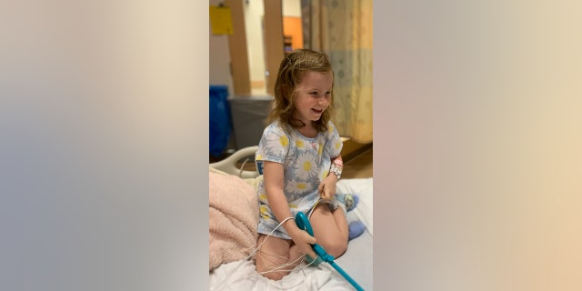 Vera, 4, collapsed suddenly when her father tried to perform CPR. She was taken to the hospital where the family later learned she had calmodulinopathy, a rare, life-threateningarrhythmia syndrome that's found in young people.