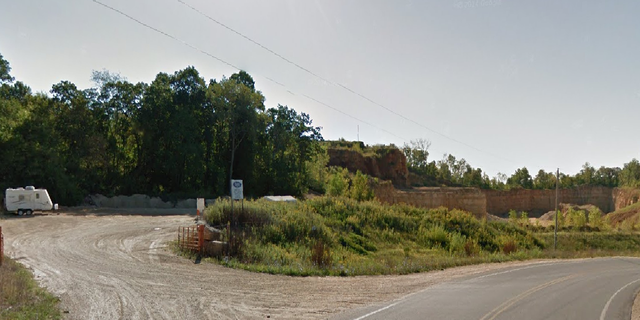 The three bodies were found early Friday last week outside of this quarry near West Salem, Wisconsin.
