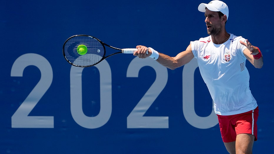 Djokovic knows 'history is on the line' at Tokyo Olympics