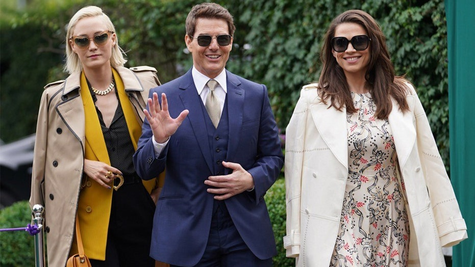 Tom Cruise hits Wimbledon with rumored girlfriend and 'Mission: Impossible 7' co-star Hayley Atwell