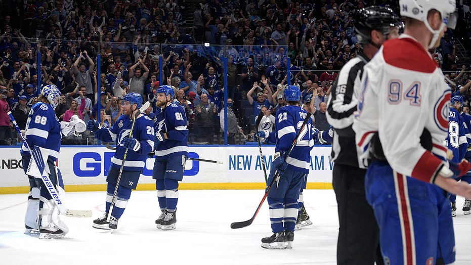 Punch, counterpunch: Canadiens, Lightning final gets rugged