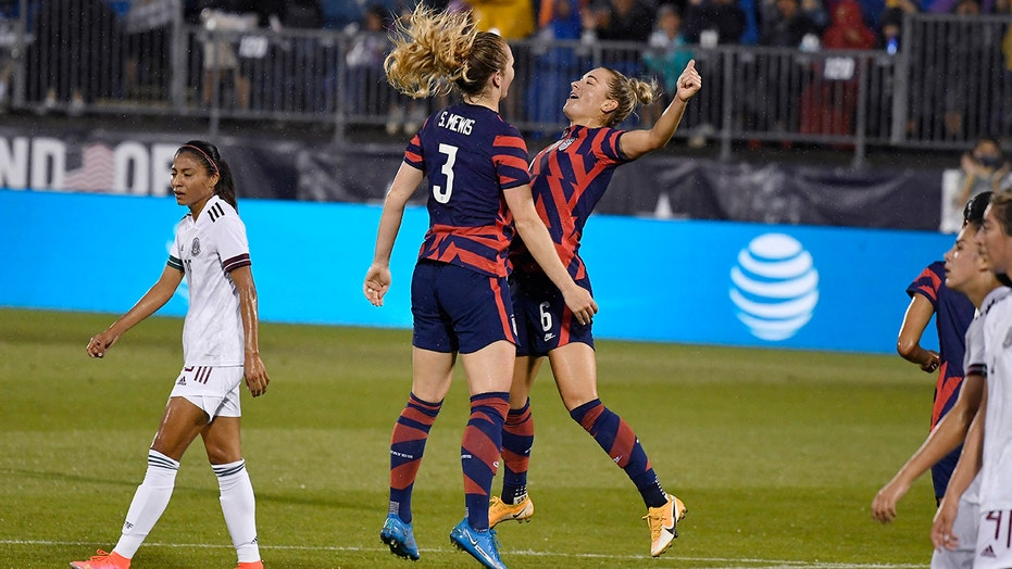 Mewis sisters set to share field in Tokyo, hope to win gold