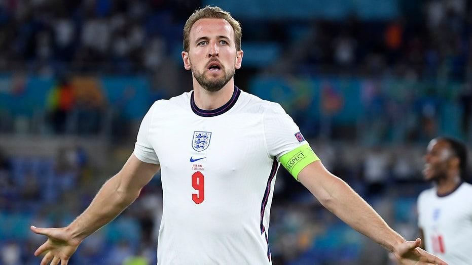 Kane carries England past Ukraine, into Euro 2020 semifinals