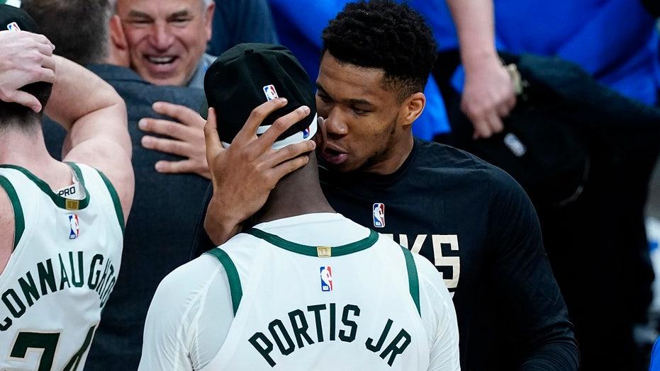 Bucks hope Antetokounmpo can return for long-awaited Finals