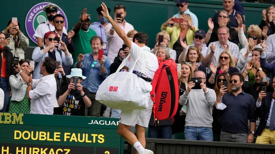 8-time Wimbledon champ Roger Federer unsure if he'll be back