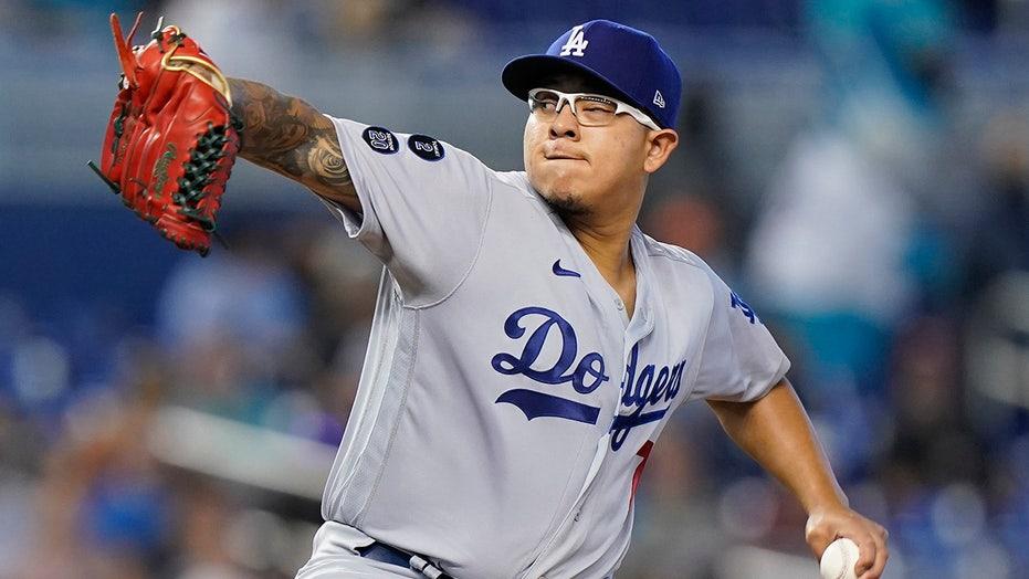 Urías 1st 11-game winner, leads Dodgers over Marlins 6-1