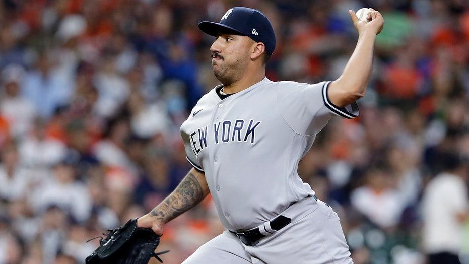 Cortes, Yankees bullpen combo on 3-hitter, blank Astros 4-0